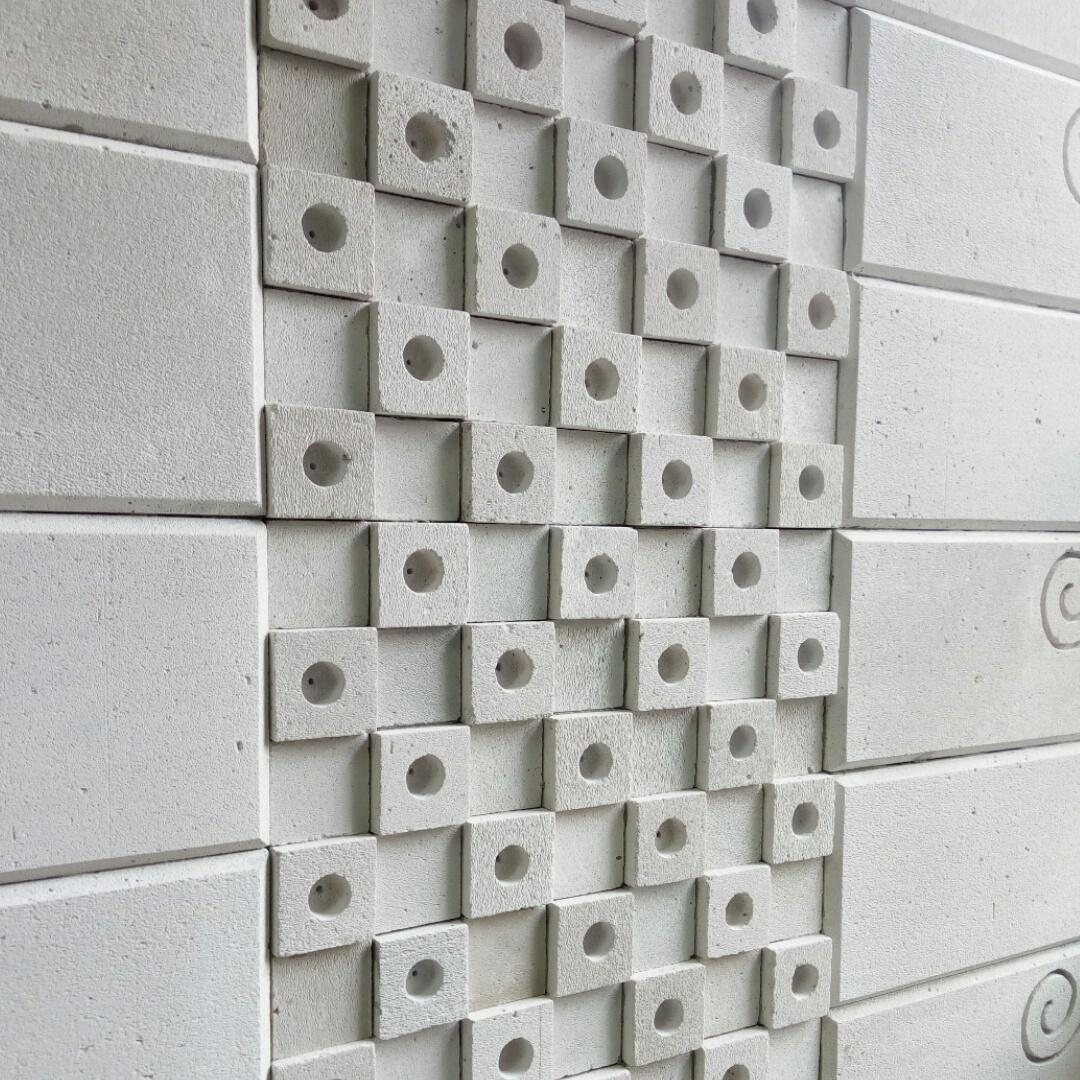 Dinding dekoratif beton ringan
