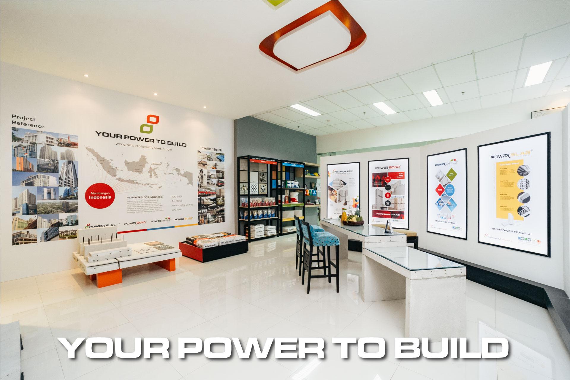 Perusahaan Bata Ringan Terbaik - PowerBlock